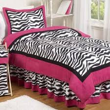Sweet Jojo Zebra Curtains by Sweet Jojo Designs Girls 5 Piece Pink Zebra Toddler Comforter