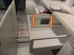 the difference between ikea s two different kitchen drawer types
