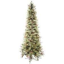 Snow Flocked Slim Christmas Tree by 64 Best Christmas