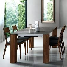 Modern Dining Table Chair Contemporary Walnut Wood Veneer Ceramic Thin Cool