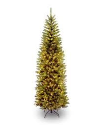 Christmas Tree 75 Pre Lit by Christmas Tree Pencil Pre Lit Amazon Com