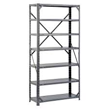 D Steel Canning Shelving Unit In Gray HC30127
