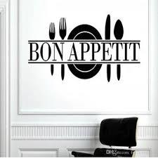 großhandel bon appetit vinyl küche beschriftungs wand dekor kunst sprüche start aufkleber wand aufkleber esszimmer küche wohnzimmer dekor 60x25cm