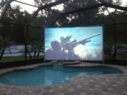 Outdoor & Backyard Theater Guide | Projector People Diy How To Build A Huge Backyard Movie Screen Cheap Youtube Outdoor Projector On Budget 6 Steps With Pictures Elite Screens Yard Master 200 Projection Screen Rent And Jen Joes Design Best Running With Scissors Diy Pics Charming Open Air Cinema 16 Feet Home For Movies Goods Projector Screens Theater Guide People Movie Theater Systems Fniture And Ideas Camp Chef Inch Portable Photo Watching Movies An Outdoor Is So Fun It Takes Bit Of