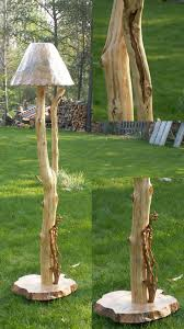Floor Lamp With Table Attached by Floor Lamps Table Lamps Handcrafted Lamps