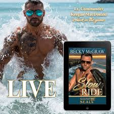 Book 2 Is LIVE Check Out An Excerpt From Slow Ride Sleeper SEALs By Becky McGraw