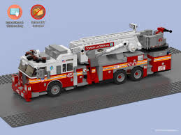 100 Custom Lego Fire Truck Stickers And Instructions To Build A FDNY Etsy
