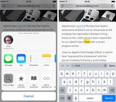 How to find a specific word inside webpages in Safari for iPhone