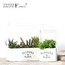 Full Image For Get Quotations A Lovely House Painted White Wooden Rustic Basket Flower Pots And