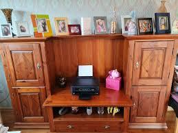 tv wohnzimmerschrank kolonialstil für das kleine wohnzimmer