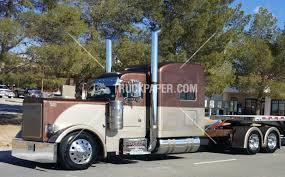 100 Heavy Duty Trucks For Sale 2001 PETERBILT 379 65000 Flatbed