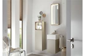 tetrim badezimmer set hülsta in lack seidengrau möbel