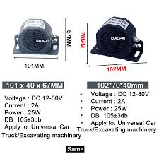 Universal Reverse Alarm Horn 12V 80V Security Alarm 105DB Loud Sound ... Universal Reverse Alarm Horn 12v 80v Security 105db Loud Sound Backup Alarms Trucklite M998 Hmmwv Marks Tech Journal Backup Cams Dash Cameras Best Buy Amazoncom 1993 Mobil Toy Tanker Truck Limited Edition Collectors New Warning 102db Beeper Cstruction Heavy Big Sound Effect Youtube Sunoco 1994 Toys Games Isaiah Thomas Is Reportedly A Favorite Of Dan Gilbert Fear The Sword 102db Reversing Horn 15w Car Suv Off Road Vehicle Wolo Backup Alarms For Cars Trucks Rvs Industrial Equipment More