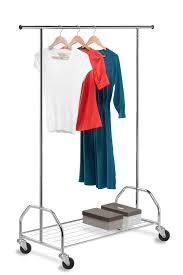 Decorative Metal Garment Rack by Clothing Storage Racks And Wardrobes Organize It
