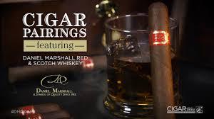 100 Daniel Marshall CIGARcom Cigar Pairings Red And Balvenie Scotch