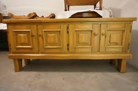 details zu sehr schönes altes sideboard wohnzimmer seitenschrank kommode groß