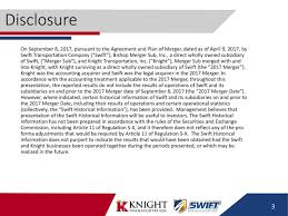 Knight-Swift Transportation Holdings Inc. 2018 Q2 - Results ...