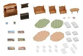 spielzeug sylvanian families landhaus wohnzimmer spielzeug