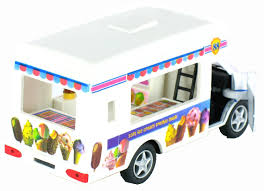100 Toy Ice Cream Truck Pullback Action Vending By KinsFun 5 Long Walmartcom