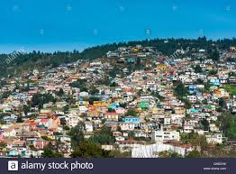 100 Houses In Chile View Of Houses On Valparaiso Hills Stock Photo 109411173 Alamy