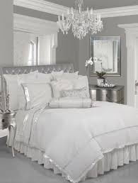 Silver White Bedroom Except For The Sequins