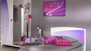 chambre gris et violet décoration chambre gris mauve