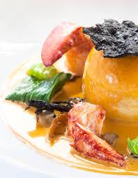 cuisine brochet mousseline de brochet homard et petits légumes jus de carapaces