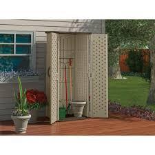 Suncast Garden Shed Taupe by Suncast 20 Cu Ft Vertical Storage Shed Blue Carrot Com