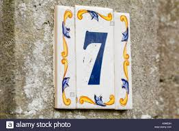 ceramic tile house number stock photos ceramic tile house number