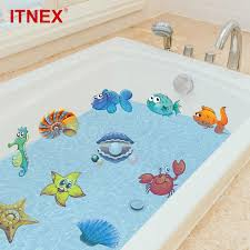 großhandel itnex 10 20 stücke bad aufkleber nemo fisch meer wandaufkleber für dusche kinder kinder baby badewanne fliesen bad aufkleber
