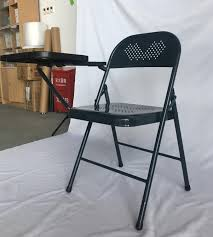 Philippines Metal Folding Chair With Plastic Writing Tablet Supplier - Buy  Folding Chair With Tablet,Folding Chair Writing Pad,Metal Folding Chair ...