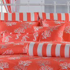 Coral Colored Bedding by Sanibel Queen Comforter Set Free Shipping