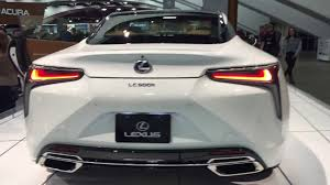 2018 Lexus LCh 500 hybrid car San Fran Auto Show awesome car