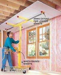 hanging drywall on ceiling tips how to hang drywall like a pro hanging drywall drywall lift and