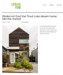 100 Modern Design Houses For Sale UrbanYVR Features Our East Vancouver House For Sale