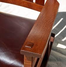 Voorhees Craftsman Mission Oak Furniture - Early Gustav ...
