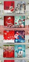 Crushed Voile Curtains Christmas Tree Shop by Best 25 Christmas Shower Curtains Ideas On Pinterest Christmas
