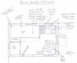 8x12 Floor Plan Tiny House Talk Dennis Mains Design Software Great Room