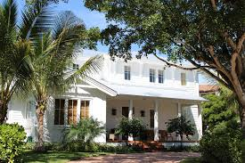Fourth Street South And Avenue Architecture Homes Design Naples Florida British West Indies Style