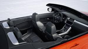 land rover evoque interieur range rover evoque convertible