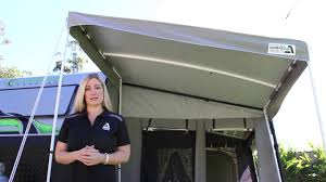 Caravan Rollout Awning Porch - YouTube Ezy Camper Awning Arms Oztrail Rv Side Wall Awnings Ezi Slideshow Kakadu Annexes Youtube Foxwing Camping Used Quest Blenheim Caravan Awning Size 900cm Sold By Www Roll Out Porch For Sale Australia Wide Arb Roof Top Tent Rtt And 2000mm 6 Awenings Demo Shade Torawsd Extra Privacy Oztrail Gen 2 4x4 Sunseeker 25m