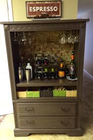 Locking Liquor Cabinet Amazon by Liquor Cabinet Made From An Old Tv Unit Home And Yard