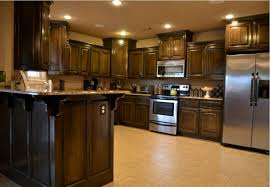 Kitchens With Dark Cabinets And Light Countertops by Kitchen Room 2017 Kitchen Dark Cabinets Light Granite Then Stove