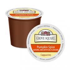 Gevalia Pumpkin Spice Latte Keurig by Grove Square Pumpkin Spice Single Serve Cappuccino 24 Pack Ecs