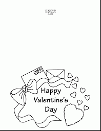 Outstanding Printable Valentine Card Coloring Page With Valentines Day Pages Free