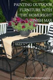 Vintage Wrought Iron Porch Furniture by Best 25 Painted Patio Furniture Ideas On Pinterest Painting