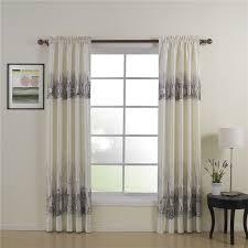modern luxury room darkening soundproof thermal curtains buy grey