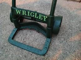 INDUSTRIAL MACHINE AGE WRIGLEY GUM CO HAND TRUCK DOLLY « Obnoxious ...