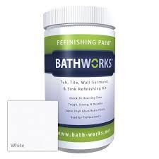 bathworks diy bathtub and tile refinishing kit with non slip