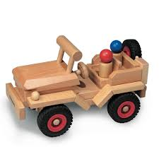 100 Fagus Trucks Wooden Jeep